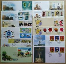 Malaysia FDC Lot of 12 First Day Covers issued in 2003