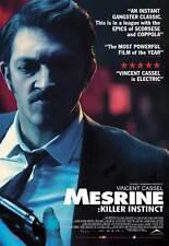 MESRINE: KILLER INSTINCT Movie POSTER 11x17