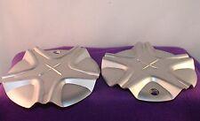 Excel Silver Custom Wheel Center Cap Set of Two (2) pn: 534670F-3
