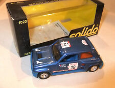 Renault R 5 Turbo   1:43 Solido  1023 OVP#999