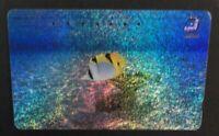 JAPAN F-588 Magnetic NTT [110-190824] - Animal, Sea life, Fish - used !!!