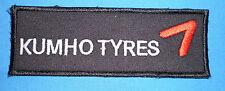 TOPPA PATCH KUMHO TYRES 12,2x4,3 cm Per TUTA AUTO MOTO KART RALLY - racing suite