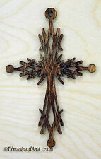 Decorative Christian Cross, for Wall Hanging or Ornament, Item S1-8