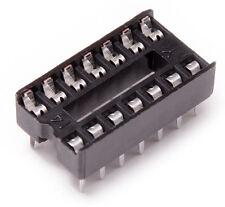 10pcs 14 Pin Narrow Type DIP IC Socket Solder Prototype PCB ATTiny84 Attiny44
