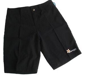Black Board Shorts Plus Size 12 14 16 18 20 22 Boardies Slim Bathers Swimwear