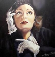 Dipinto originale olio su tela da Gregorio Tillett: FEMME FATALE