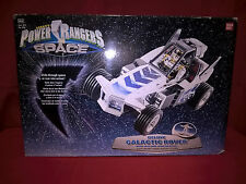 SABAN'S POWER RANGERS IN SPACE DELUXE GALACTIC ROVER SILVER BANDAI REF.3278 MIB