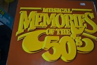 MUSICAL MEMORIES OF THE 50`S    VARIOUS     LP     PUSHBIKE RECORDS  PBR 0001