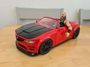 WWE Wrekkin' Slam Mobile Vehicle Wrestling Playset & Braun Strowman