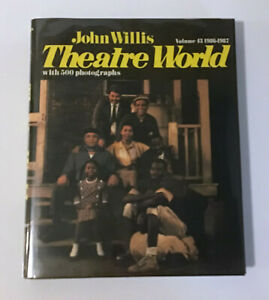 Vintage John Willis Theatre World Volume 43 Season 1986-87 Broadway Stage