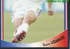 023 BIXENTE LIZARAZU 1/2 EQUIPE DE FRANCE VIGNETTE STICKER SUPERFOOT 2004 PANINI
