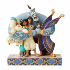 Disney 6005967 Aladdin Group Hug Statue