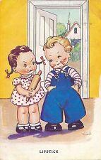 POSTCARD  CHILDREN   Lipstick      Dinah     Tuck