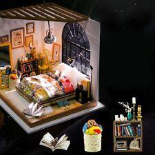 Robotime 3D DIY House Alice's Bedroom Wooden Puzzle Handmade Home Miniature Mヤ