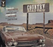 COUNTRY ROAD TRIP - VARIOUS ARTISTS (NEW SEALED 2CD)