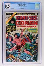 Giant-Size Conan #5 - Marvel 1975 CGC 8.5 - Double Cover!