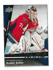 2009-10 UPPER DECK #499 BRADEN HOLTBY YG RC UD YOUNG GUNS ROOKIE