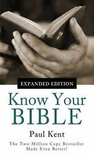 KNOW YOUR BIBLE--EXPANDED EDITION VALUE BOOKS