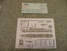 Modelcraft decals 1/300 USS Perry Missile Frigate  M94