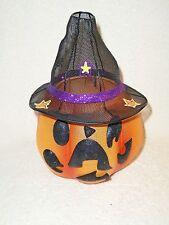 Partylite Mr. Pumpkin Head -- A Halloween Must!!