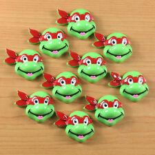Lot 10pcs Red Turtle Brother Cabochons Resin Flatback Hair Bow Center Crafts BIN