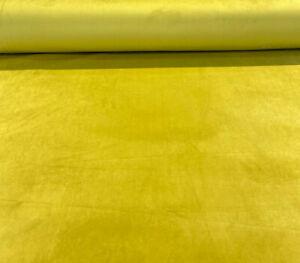Arabella Kelp Green Gold Velvet Upholstery Drapery Fabric by the yard