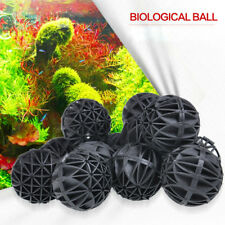 100 Pcs 16MM Aquarium Bio Balls Filter Media Wet Dry Koi Fish Tank Pond