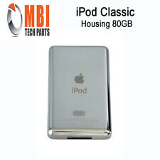 iPod Classic 6th 7th Replacement Metal Back Housing Cover Case Silver 80GB