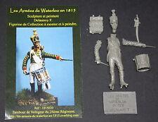 NAPOLEONIC -HISTOREX-ARMEES DE WATERLOO-TAMBOUR DE VOLTIGEUR-1815