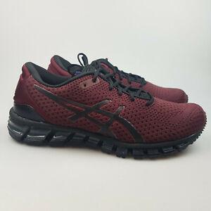 Men's ASICS 'Gel Quantum 360 Knit 2' Shoes Grey Blue Maroon   3+ Extra 10% Off