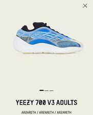 Adidas Yeezy Boost 700 V3 Azareth Men size 5.5 / Women size 7, Fedex 2-Day Ship!