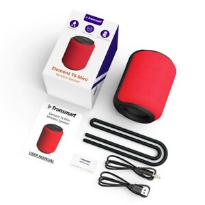Mini Bluetooth 5.0 Speaker with Voice Assistant,360-Degree Surround, Deep Bass