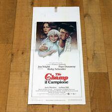 THE CHAMP IL CAMPIONE locandina poster Jon Voight Faye Dunaway Zeffirelli W43