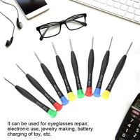 Precision Screwdriver Set 8pcs Eyeglasses Watch Jewelry Watchmaker Repair Tools