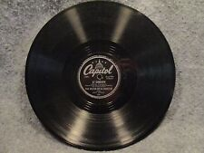 "78 RPM 10"" Record Paul Weston So Would I & At Sundown Capitol Records 329"