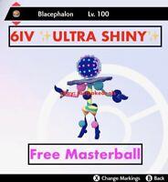 -Pokemon Sword and Shield- ✨Ultra Shiny✨ 6IV Blacephalon FAST D Ultra Beast