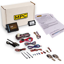 Remote Start & Keyless Entry Kit for Cadillac Vehicles - Complete Kit w/Bypass