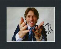 JOHN BISHOP LIVERPOOL COMEDIAN HAND SIGNED MOUNTED AUTOGRAPH PHOTO INC COA
