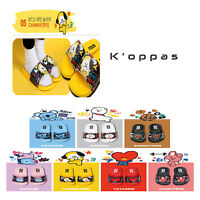 Official Kpop BTS BT21  Pattern Slippers 100% Authentic By Line Friends