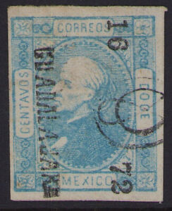 cv26 Mexico #94 12ctv Guadalajara 16-72 Sz 343 Used in GDA 30pts est $10+ F-VF