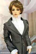 1/3 bjd 70cm male doll clothes outfit set grey suit Luts SSDF Loongsoul ship US