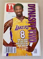 Kobe Bryant L.A. Lakers TV Guide cover Newsstand edition 6/ 2000   NO LABELS