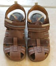 Ecco Toddler Boys Suede Leather Sandals Shoes EU 31 US 13/13.5