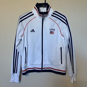 2003 FIFA Womens World Cup Adidas Soccer Track Jacket #11 Julie Foudy Size M