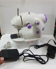 Imported 4 in 1 Mini Sewing Machine with Adapter &Foot Pedal