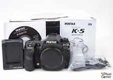 Pentax K-5 16.3MP DSLR Digital camera body SR Boxed 4170314