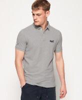Superdry Mens Classic Pique Short Sleeve Polo Shirt