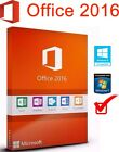 Office 2016 Pro Plus 32/64 Bits Licencia Original español - Only Spanish