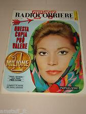 TV RADIOCORRIERE=1967/38=LUISA RIVELLI=ODISSEA ULISSE=FERRUCCIO TAGLIAVINI=