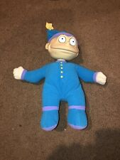 "Rugrats Slumber Party TOMMY PICKLES 12"" Plush Doll Bedtime Pajamas - 1997 Mattel"